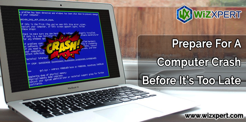 Prepare For A Computer Crash Before It's Too Late