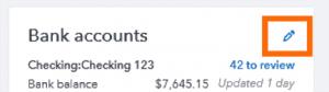 Rearrange Accounts: