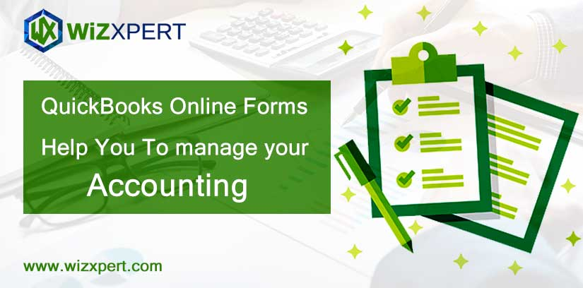 QuickBooks Online Forms Help You To manage your Accounting