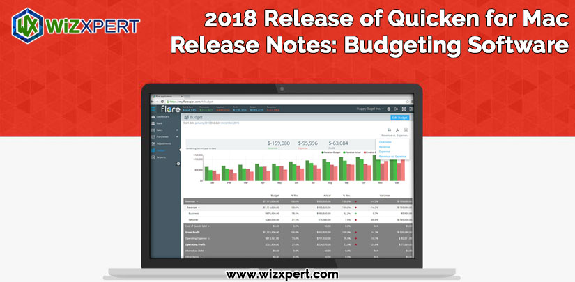2018 Release of Quicken for Mac Release Notes Budgeting Software