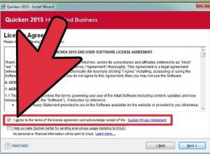 accepts the license agreement