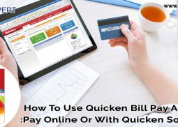 How To Use Quicken Bill Pay Account?: Pay Online Or With Quicken