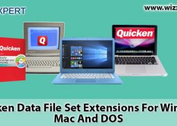 Quicken Data File Set Extensions For Windows, Mac And DOS