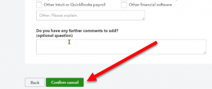 Cancel your QuickBooks Online Company