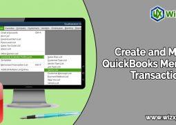 Create and Modify QuickBooks Memorized Transaction