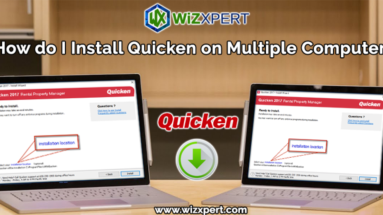 How do I Install Quicken on Multiple Computers - Learn And