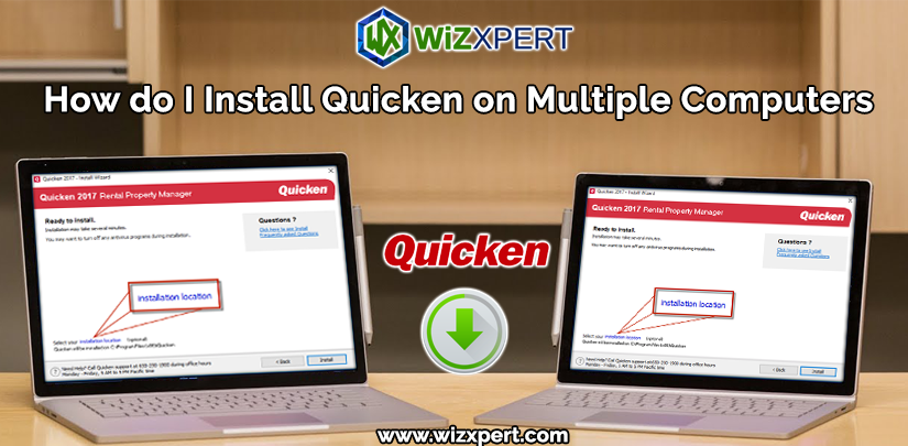 How do I Install Quicken on Multiple Computers?