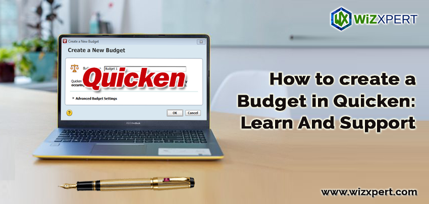How to create a Budget in Quicken