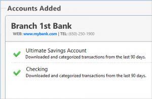 Bank transactions