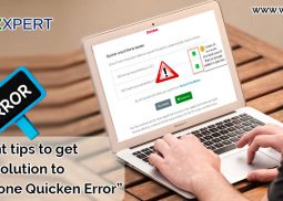 Capital one Quicken Error: Important Tips to Fix It