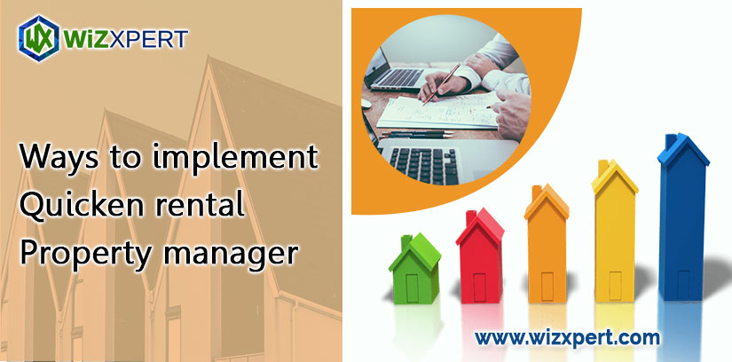 Ways to implement Quicken rental property manager