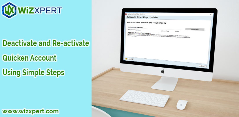 Deactivate and Re activate Quicken Account Using Simple Steps