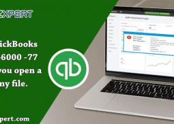 Fix QuickBooks Error -6000 -77 when you open a company file.