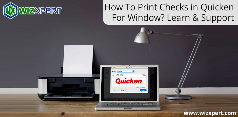 How-To-Print-Checks-in-Quicken-For-Window-Learn-&-Support