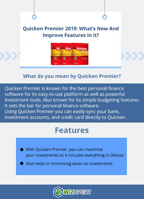 Quicken-Premier-2019-What's-New-And-Improve-Features-in-it