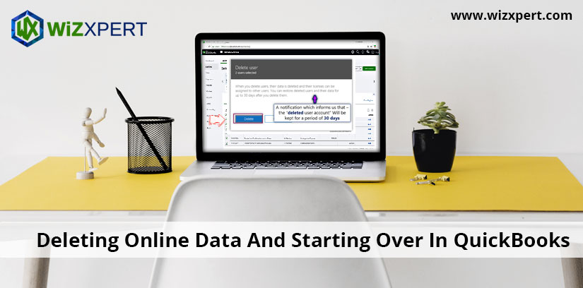 Deleting Online Data And Starting Over In QuickBooks