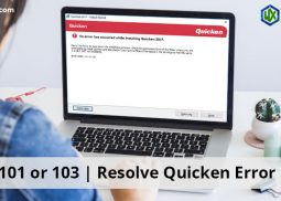 Error 101 or 103 | Resolve Quicken Error Codes
