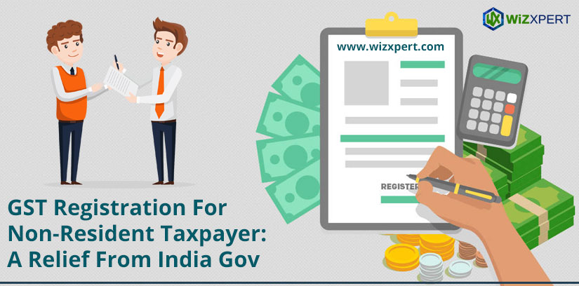 gst registration for non resident tax payer