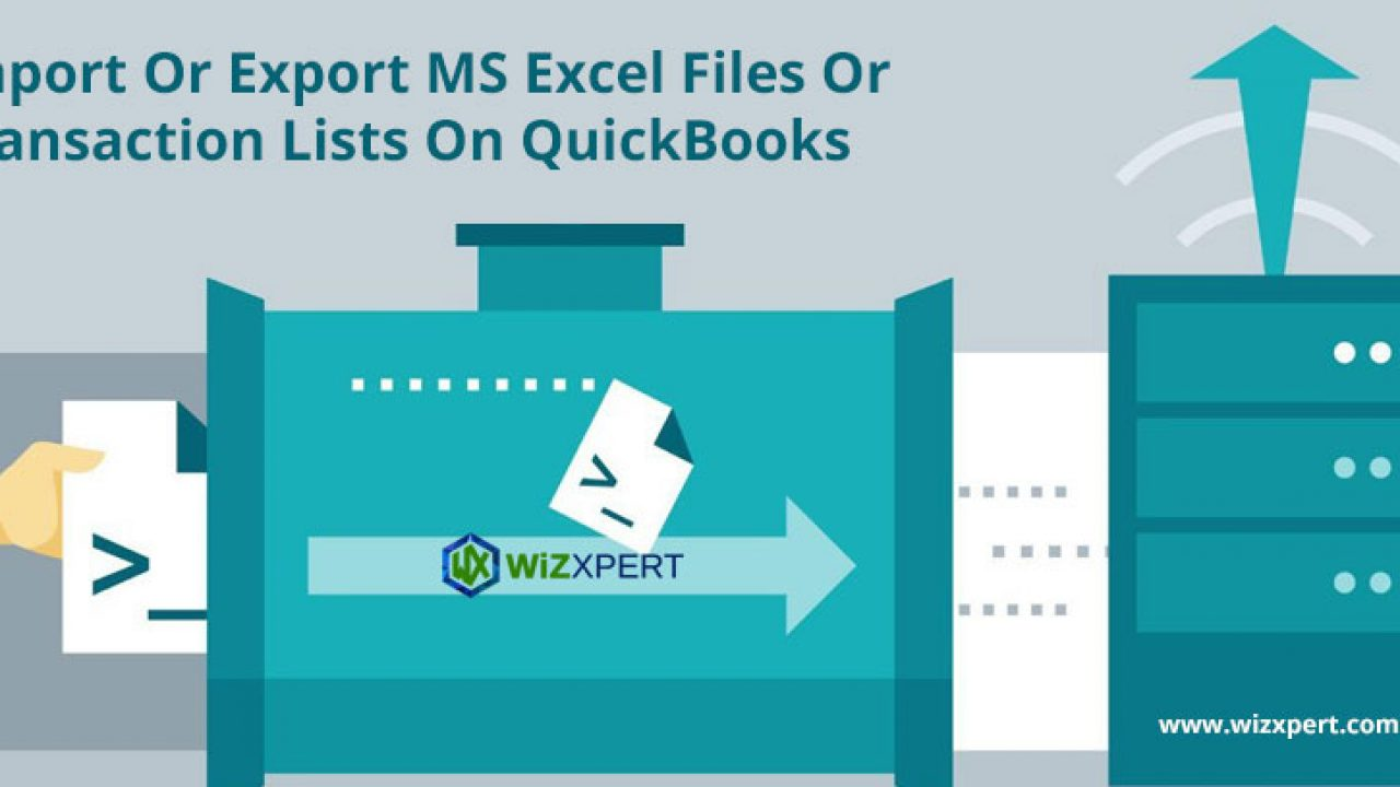 Import Or Export MS Excel Files Or Transaction Lists In