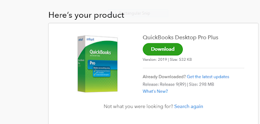 downloading QuickBooks desktop product : download QuickBooks Desktop