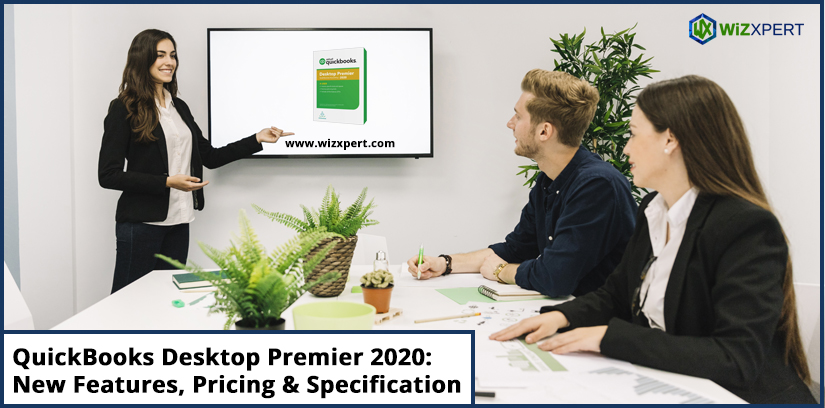QuickBooks Desktop Premier 2020 New Features Pricing Specification