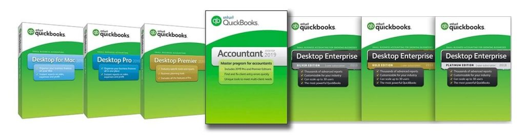 compare QuickBooks versions