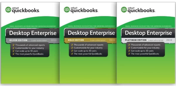QuickBooks Desktop Enterprise Plan & Pricing