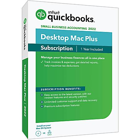 QuickBooks Desktop Mac Plus 2022