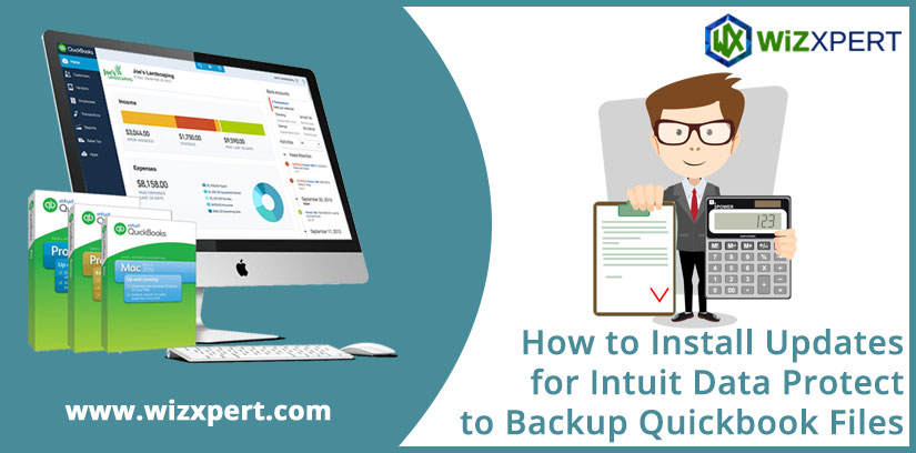 How to Install Updates for Intuit Data Protect to Backup Quickbook Files