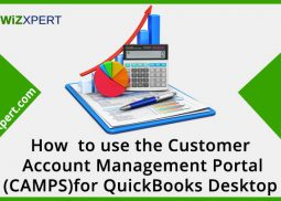 How to use the Customer Account Management Portal (CAMPS) for QuickBooks Desktop