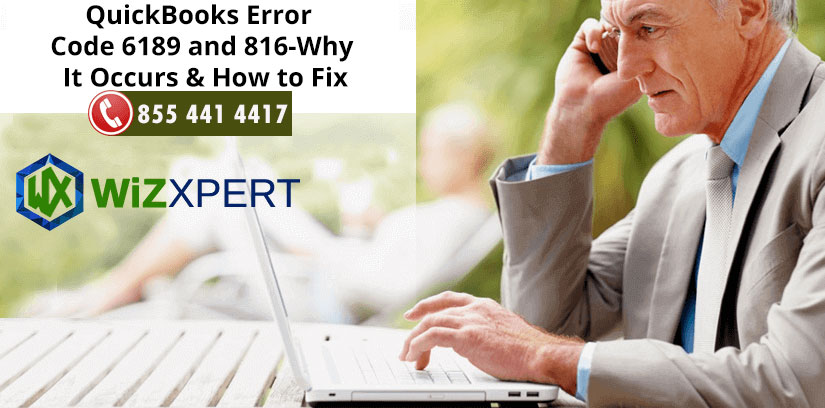 QuickBooks Error Code 6189 and 816 Why It Occurs How to Fix