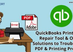 QuickBooks Print & Pdf Repair Tool & Other Solutions to Troubleshoot PDF & Printing Problems