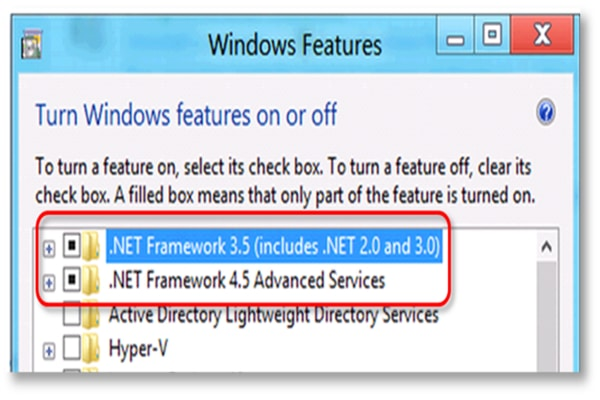 Fix Microsoft .NET Framework errors
