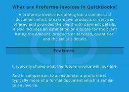 How To create a Proforma Invoice in QuickBooks?