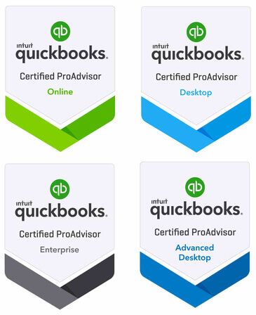 QuickBooks ProAdvisor badge 1