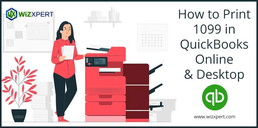 How to Print 1099 in QuickBooks Online & Desktop