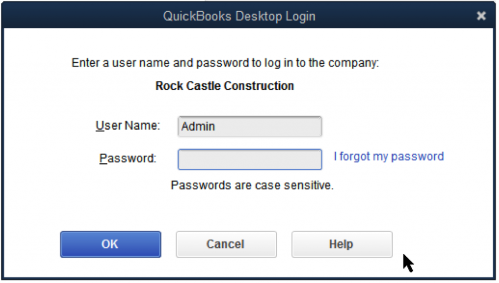 crack quickbooks password