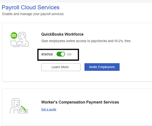 QuickBooks Workforce Inuit