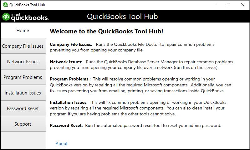 QuickBooks Tool Hub: QuickBooks error PS101