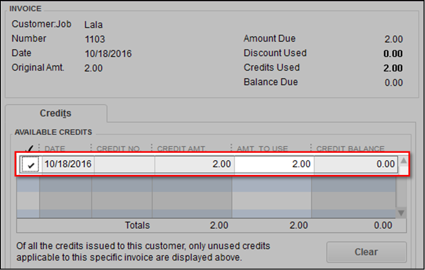 Write Off Balances in QuickBooks