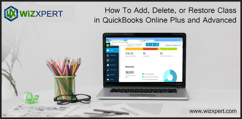 How To Add, Delete, or Restore Class in QuickBooks Online Plus and Advanced