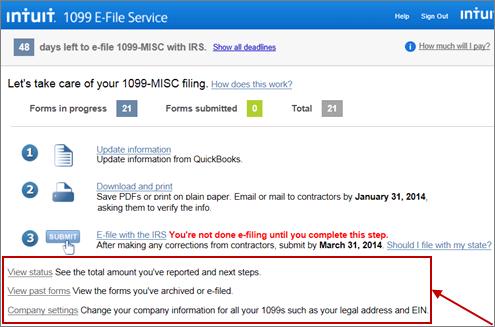 1099 E-File Service