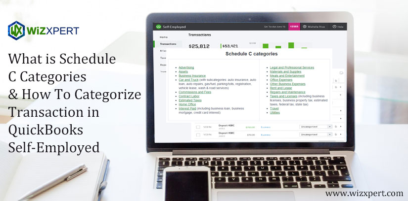 What is Schedule C Categories & How To Categorize Transaction in QuickBooks Self-Employed