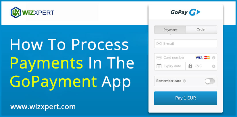 How To Process Payments In The GoPayment App