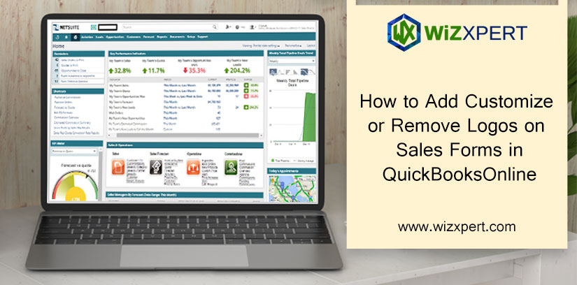 How to Add Customize or Remove Logos on Sales Forms in QuickBooks Online