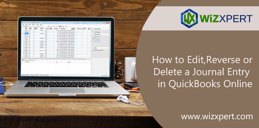 How to Edit, Reverse or Delete a Journal Entry in QuickBooks Online