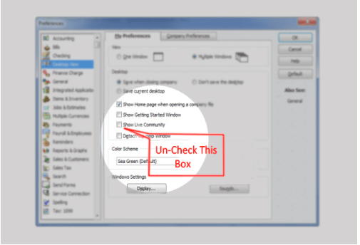 How to Turn off or Disable QuickBooks Messenger