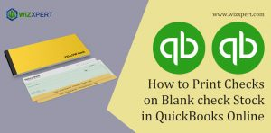 How to Print Checks on Blank check Stock in QuickBooks Online