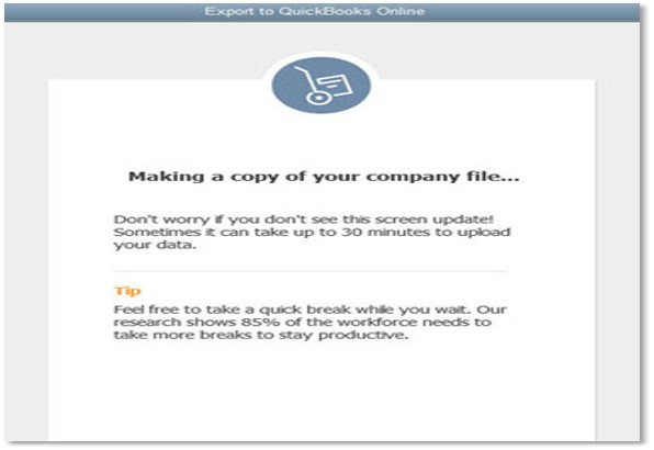 Issue copying your company file (Fix errors in converting Quickbooks Desktop to Online) Wizxpert