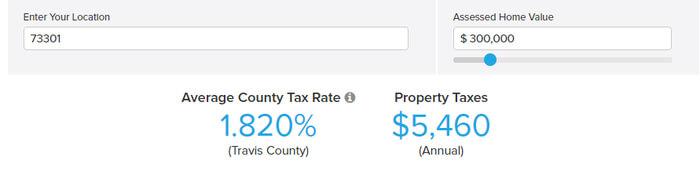 Avoid Property taxes in Texas